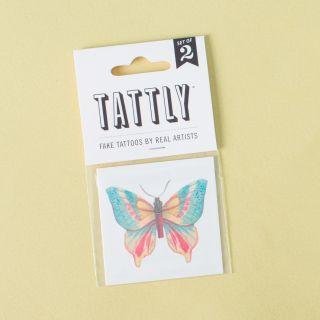Tattly Temporary Tattoos Butterfly