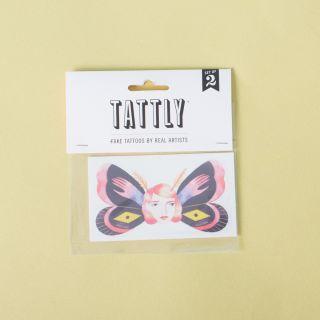 Tattly Temporary Butterfly Head