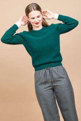 Wood Wood Regina Dark Green Pullover