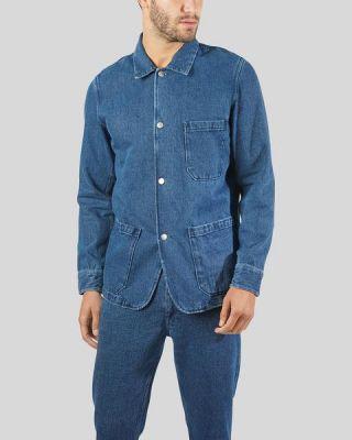 Portuguese Flannel Labura Denim Jacket Blue