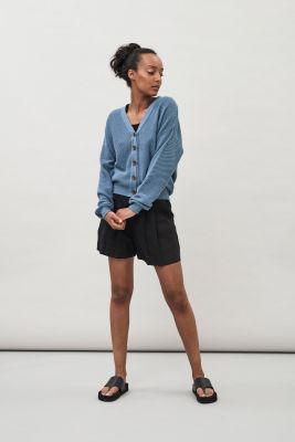 Maska Prima Linen Shorts Black
