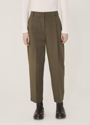 YMC Market Aquila Twill Trousers Olive