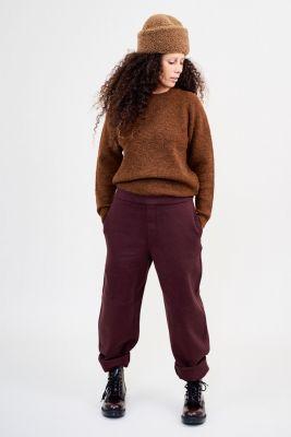 Kitchener items Asta Roundneck Jumper - Brown