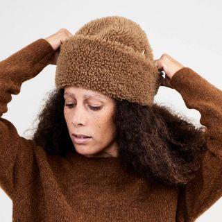 Mühlbauer Fold-Up Beanie TORIN Sherpa Wool