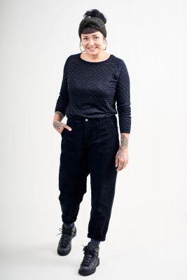 Maska Ruth Corduroy Trousers - Black