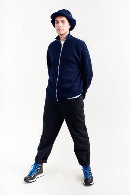 Kitchener Items New Kimi Zip Cardigan Navy & Black