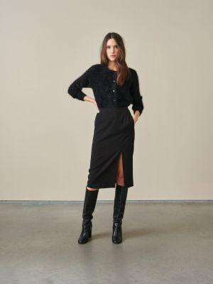 Bellerose Laura Skirt Off Black