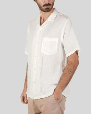 Portuguese Flannel Linen Camp White
