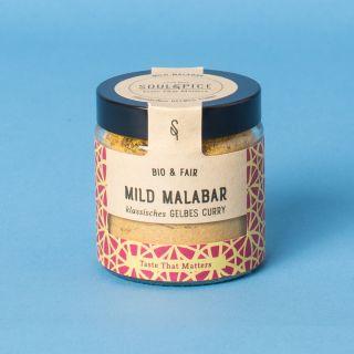 Soul Spice Mild Malabar Klassisches Gelbes Curry Bio