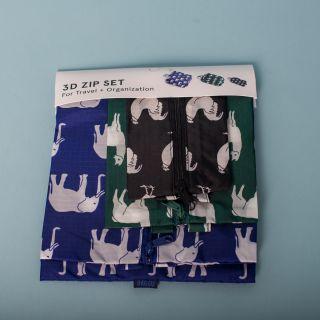 Baggu 3D Zip Set Animals