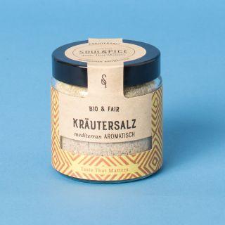 Soul Spice Kräutersalz Mediterran Aromatisch Bio