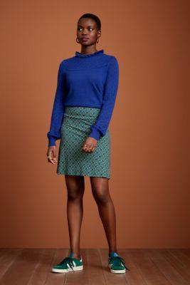 King Louie Border Skirt Carlisle Peacoat Blue
