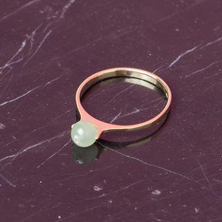 Saskia Diez Birthday Ring Jade (September)