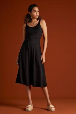King Louie Allison Midi Dress Ecovero Classic Black