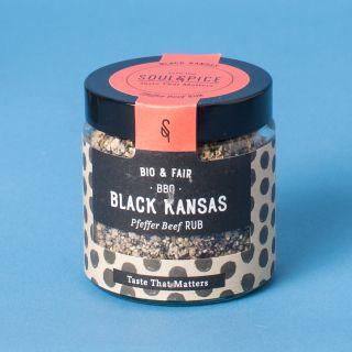 Soul Spice BBQ Black Kansas Pfeffer Beef Rub Bio