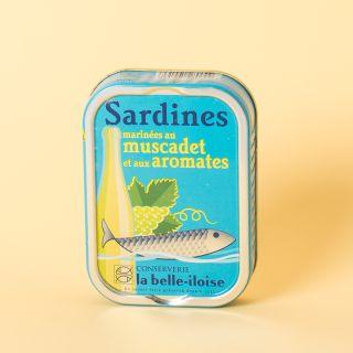 La Belle-Iloise  Sardines marinées au muscadet et aux aromates