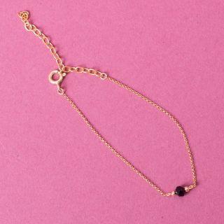 Nana Bijoux Schwarzer Quarzkristall Bracelet