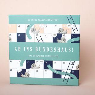 Ab ins Bundeshaus - Schweizer Leiterlispiel