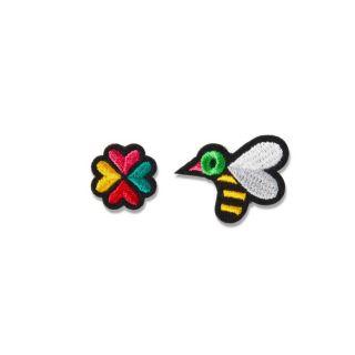 Macon & Lesquoy Bee + Flower Badge