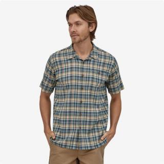 Patagonia Men's A/C™ Buttondown Shirt Fallow Stone Blue