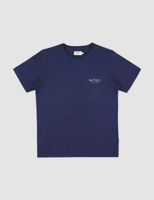Castart Matisse T-shirt – Navy Blue