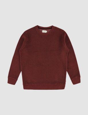 Castart Bill Sweater – Burgundy