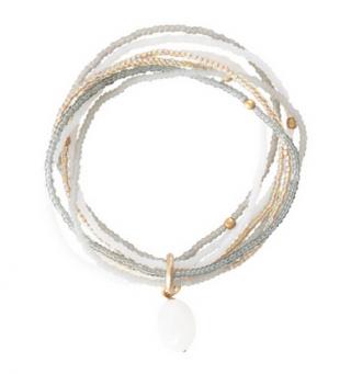 Nirmala Moonstone Gold Bracelet