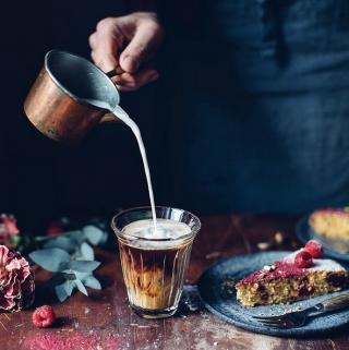 La Rochère Zinc Coffee Glass