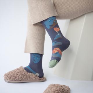 Bonne Maison Socks Nocturnal Face