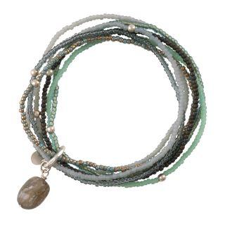 A Beautiful Story Nirmala Labradorite Silber Bracelet