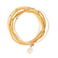 A Beautiful Story Nirmala Citrine Gold Bracelet