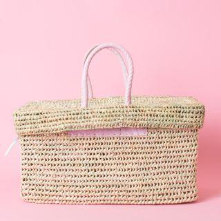 Box Basket Large Pink