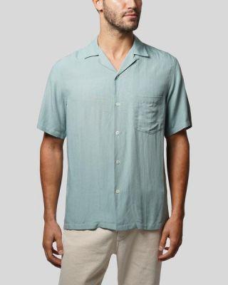 Portuguese Flannel Catown Short Sleeve Shirt Mint