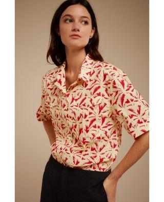 Chloé Stora Cerise Shirt Rouge