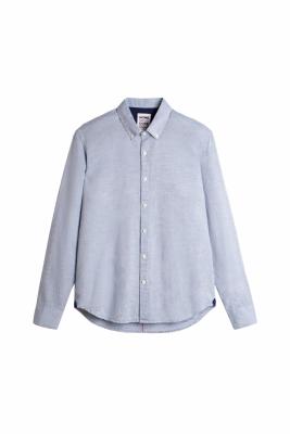 Homecore Tokio Linen Shirt Speckled Blue