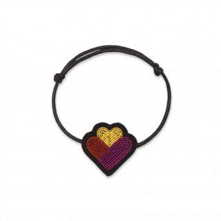 Macon & Lesquoy Family Hearts Bracelet