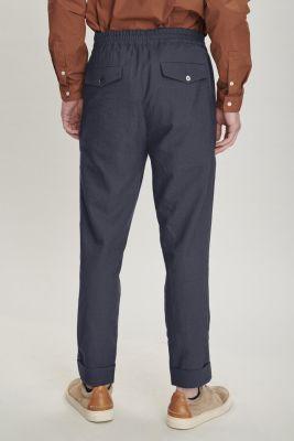 Delikatessen Finest Italian Sustainable Lyocell Trousers
