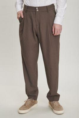 Delikatessen Merino Wool Trousers Olive