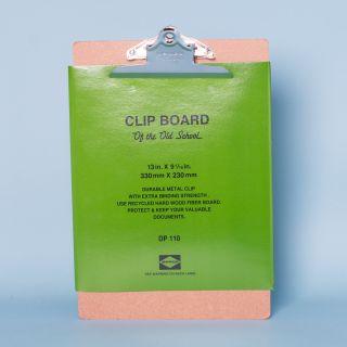 Penco Silver Clip Clipboard A4