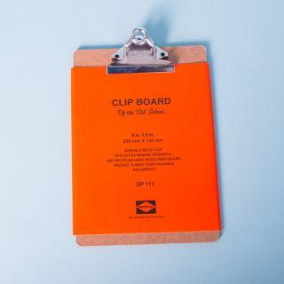 Penco Silver Clip Clipboard A5