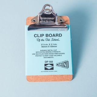 Penco Light Silver Clip Mini Clipboard