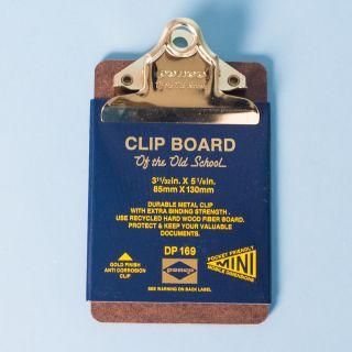 Penco Mini Blue Clip Board 3 11/32in. x 5 1/8in.