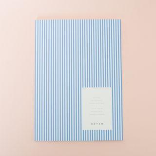 Notem Vita Notebook, Medium - Blue Lines