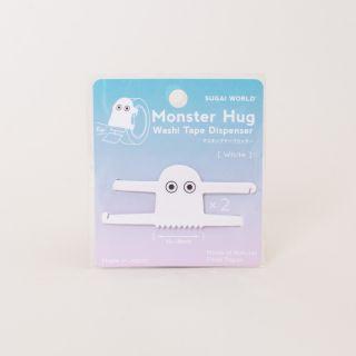 Sugai Monster Hug Washi Tape Dispenser - White
