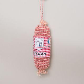 """Maison Cisson - 100% Knitted """"La Noix de Jambon Nature"""" Sausage"""