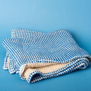 Schönstaub SECA Shower Towel Blue 70 x 140 cm