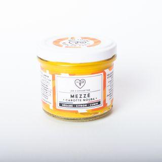 Les 3 Chouettes Mezzé Carotte Nouba, Carrot - Sesame - Lemon - Cumin 100g