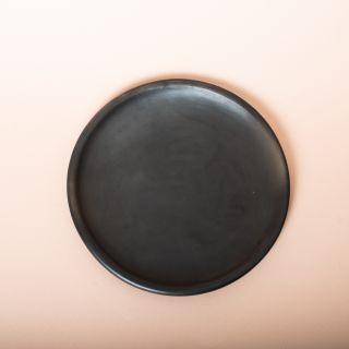La Muerte Tiene Permiso* Full Moon Oaxacan Clay Side Plate