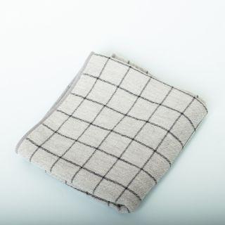 Morihata Graph Towel Bamboo - Charcoal Towel