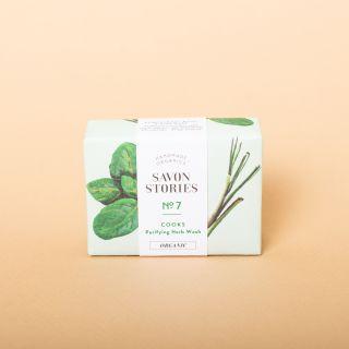 Savon Stories N°7 Basil Herbs Cooks Soap